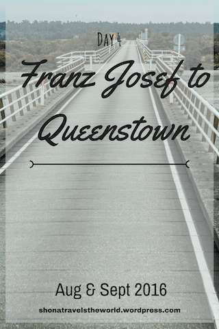 Franz Josef to Queenstown